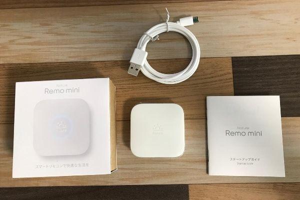 スマートリモコン:Remo mini
